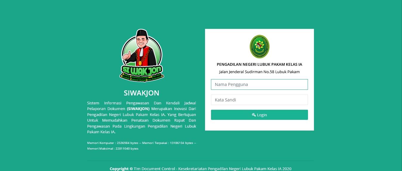 Launching Aplikasi Si Wakjon