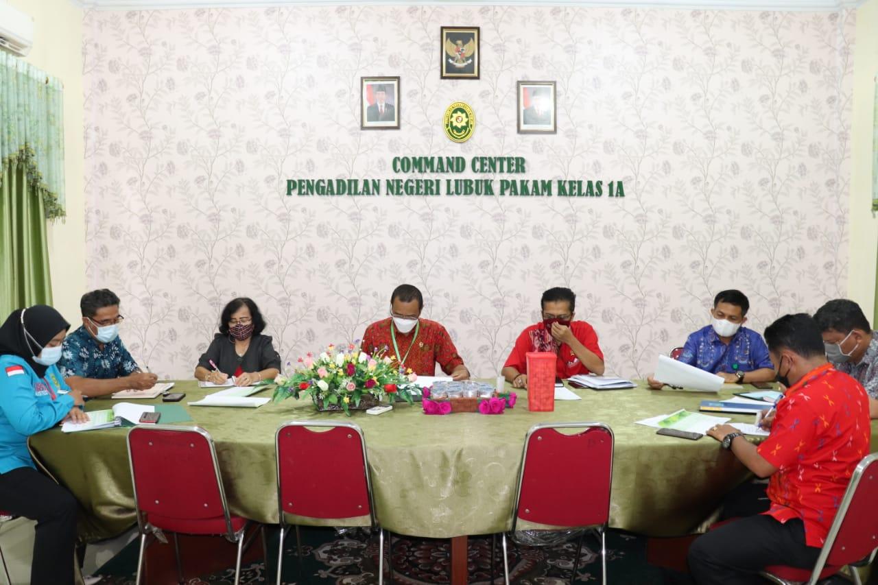Rapat Penyusunan Rencana Kegiatan Tim Akreditasi Penjaminan Mutu Pengadilan Negeri Lubuk Pakam.